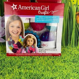 American Girl Crafts Scarf Knitting Kit